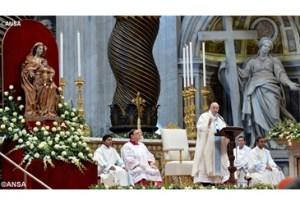 papa francisco dia primeiro de 2015